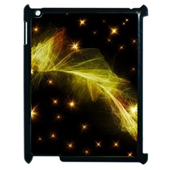 Particles Vibration Line Wave Apple Ipad 2 Case (black) by Amaryn4rt