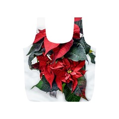 Star Of Bethlehem Star Red Full Print Recycle Bags (s)  by Amaryn4rt