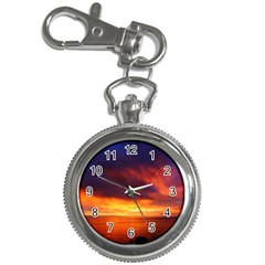 Sunset The Pacific Ocean Evening Key Chain Watches by Amaryn4rt