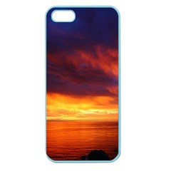 Sunset The Pacific Ocean Evening Apple Seamless Iphone 5 Case (color)