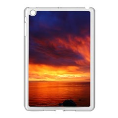 Sunset The Pacific Ocean Evening Apple Ipad Mini Case (white) by Amaryn4rt