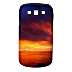 Sunset The Pacific Ocean Evening Samsung Galaxy S Iii Classic Hardshell Case (pc+silicone) by Amaryn4rt