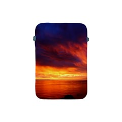 Sunset The Pacific Ocean Evening Apple Ipad Mini Protective Soft Cases by Amaryn4rt