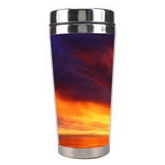 Sunset The Pacific Ocean Evening Stainless Steel Travel Tumblers by Amaryn4rt