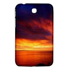 Sunset The Pacific Ocean Evening Samsung Galaxy Tab 3 (7 ) P3200 Hardshell Case  by Amaryn4rt
