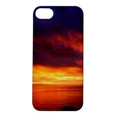 Sunset The Pacific Ocean Evening Apple Iphone 5s/ Se Hardshell Case by Amaryn4rt