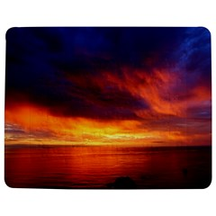 Sunset The Pacific Ocean Evening Jigsaw Puzzle Photo Stand (rectangular) by Amaryn4rt