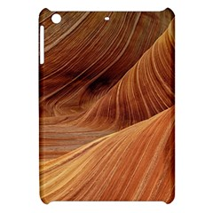 Sandstone The Wave Rock Nature Red Sand Apple Ipad Mini Hardshell Case by Amaryn4rt