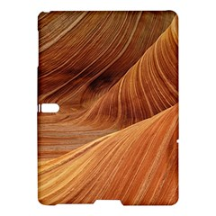 Sandstone The Wave Rock Nature Red Sand Samsung Galaxy Tab S (10 5 ) Hardshell Case  by Amaryn4rt