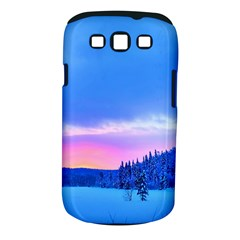 Winter Landscape Snow Forest Trees Samsung Galaxy S Iii Classic Hardshell Case (pc+silicone) by Amaryn4rt