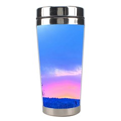 Winter Landscape Snow Forest Trees Stainless Steel Travel Tumblers by Amaryn4rt