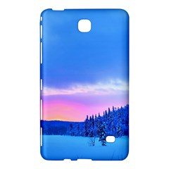 Winter Landscape Snow Forest Trees Samsung Galaxy Tab 4 (7 ) Hardshell Case  by Amaryn4rt