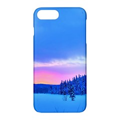 Winter Landscape Snow Forest Trees Apple Iphone 7 Plus Hardshell Case