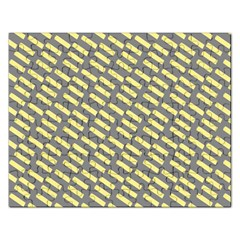 Yellow Washi Tape Tileable Rectangular Jigsaw Puzzl by AnjaniArt