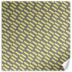Yellow Washi Tape Tileable Canvas 20  X 20
