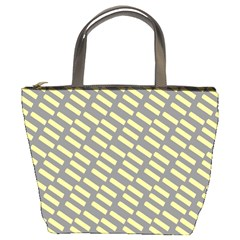 Yellow Washi Tape Tileable Bucket Bags by AnjaniArt