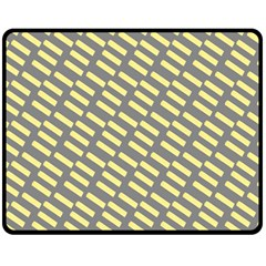 Yellow Washi Tape Tileable Fleece Blanket (medium)