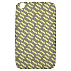 Yellow Washi Tape Tileable Samsung Galaxy Tab 3 (8 ) T3100 Hardshell Case