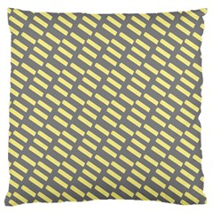 Yellow Washi Tape Tileable Standard Flano Cushion Case (two Sides)