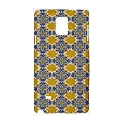 Arabesque Star Samsung Galaxy Note 4 Hardshell Case by AnjaniArt