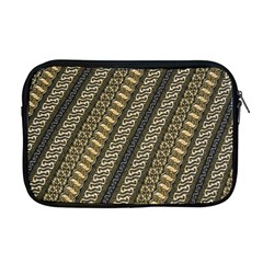 Batik Cap Parang Gendreh Kombinas Apple Macbook Pro 17  Zipper Case