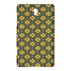 Arabesque Flower Yellow Samsung Galaxy Tab S (8 4 ) Hardshell Case  by AnjaniArt