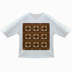 Batik Flower Brown Infant/toddler T Shirts
