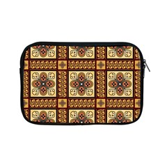 Batik Flower Brown Apple Ipad Mini Zipper Cases