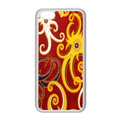 Batik Jogja Java Apple Iphone 5c Seamless Case (white)