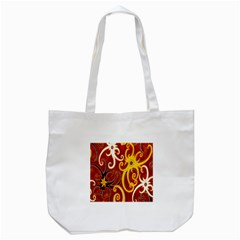 Batik Jogja Java Tote Bag (white)