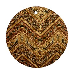 Batik Pekalongan Round Ornament (two Sides)