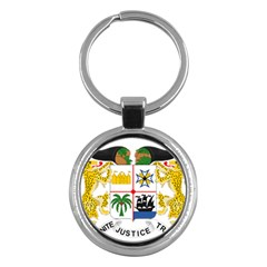 Coat Of Arms Of Benin Key Chains (round)  by abbeyz71
