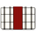 SHOJI - RED Large Doormat  30 x20 Door Mat - 1