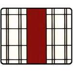 SHOJI - RED Fleece Blanket (Medium)  60 x50  Blanket Front