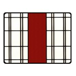 SHOJI - RED Double Sided Fleece Blanket (Small)  45 x34  Blanket Front