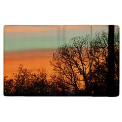 Twilight Sunset Sky Evening Clouds Apple Ipad 2 Flip Case by Amaryn4rt