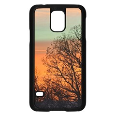 Twilight Sunset Sky Evening Clouds Samsung Galaxy S5 Case (black) by Amaryn4rt