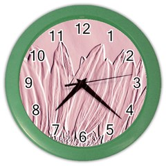 Shabby Chic Vintage Background Color Wall Clocks