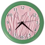 Shabby Chic Vintage Background Color Wall Clocks Front