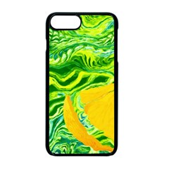 Zitro Abstract Sour Texture Food Apple Iphone 7 Plus Seamless Case (black)