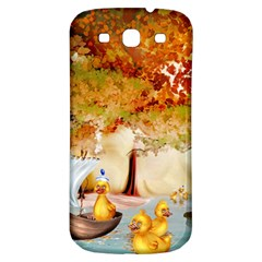Art Kuecken Badespass Arrangemen Samsung Galaxy S3 S Iii Classic Hardshell Back Case