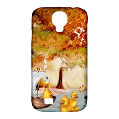 Art Kuecken Badespass Arrangemen Samsung Galaxy S4 Classic Hardshell Case (pc+silicone)