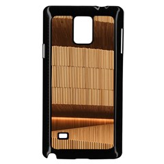 Architecture Art Boxes Brown Samsung Galaxy Note 4 Case (black)