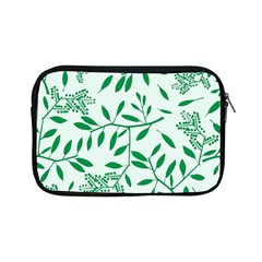 Leaves Foliage Green Wallpaper Apple Ipad Mini Zipper Cases by Amaryn4rt