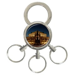 Dresden Semper Opera House 3 Ring Key Chains by Amaryn4rt