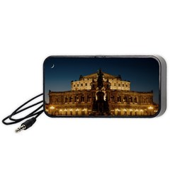 Dresden Semper Opera House Portable Speaker (black)  by Amaryn4rt