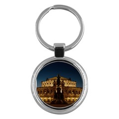Dresden Semper Opera House Key Chains (round)