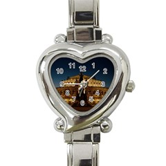 Dresden Semper Opera House Heart Italian Charm Watch by Amaryn4rt