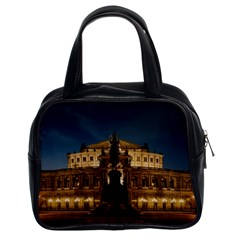 Dresden Semper Opera House Classic Handbags (2 Sides) by Amaryn4rt