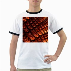Fractal Mathematics Frax Ringer T Shirts by Amaryn4rt